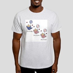 It's a Boy Girl Girl Triplets Light T-Shirt