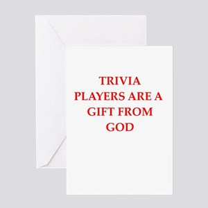 trivia Greeting Cards