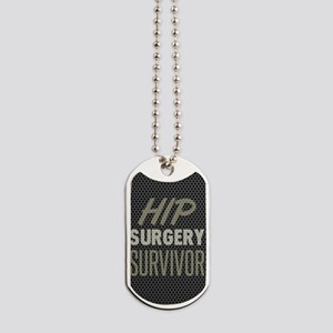 Hip Surgery Survivor Dog Tags