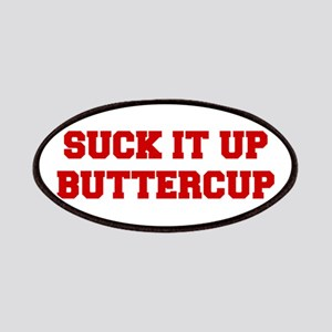 SUCK-IT-UP-BUTTERCUP-FRESH-RED Patches