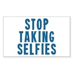 Stop Taking Selfies Sticker