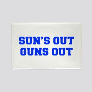 SUNS-OUT-GUNS-OUT-FRESH-BLUE Magnets