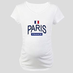 Paris France Maternity T-Shirt