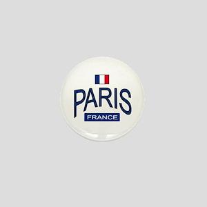 Paris France Mini Button