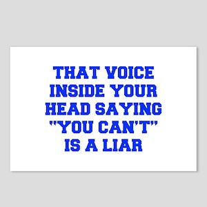 THAT-VOICE-INSIDE-YOUR-HEAD-FRESH-BLUE Postcards (
