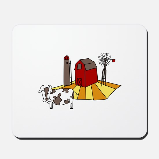 Midwest Farm Cao Cattle Barn Silo Windmill Mousepa