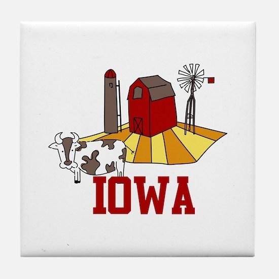 IOWA Tile Coaster