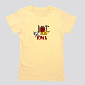 IOWA Girl's Tee