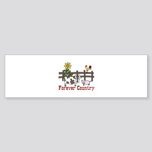 Forever Country Bumper Sticker