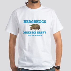 Hedgehogs Make Me Happy T-Shirt