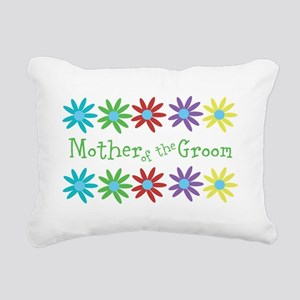 Mother of Groom Rectangular Canvas Pillow
