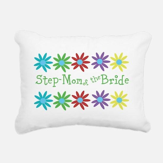 Step Mom of Bride Rectangular Canvas Pillow