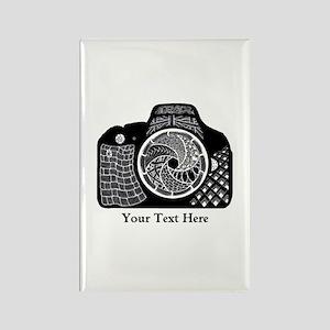 Original Camera Art Personalizabl Rectangle Magnet