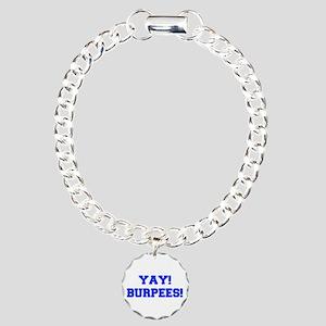YAY-BURPEES-FRESH-BLUE Bracelet