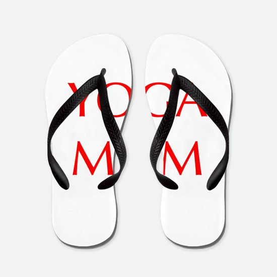 YOGA-MOM-OPT-RED Flip Flops