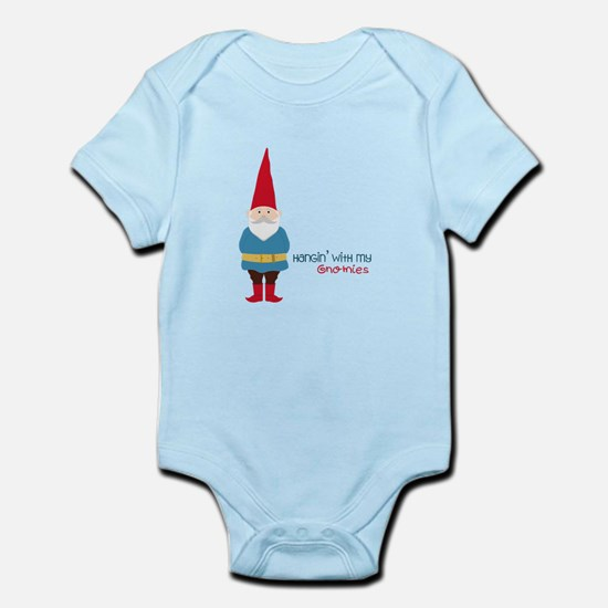 Hangin' With My Gnomies Body Suit