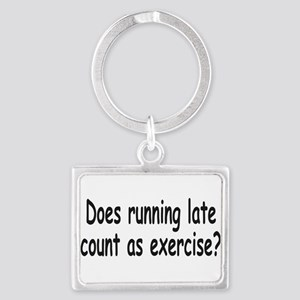 Running Late 1a Keychains