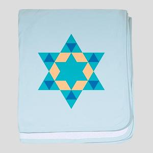 Star Of David baby blanket