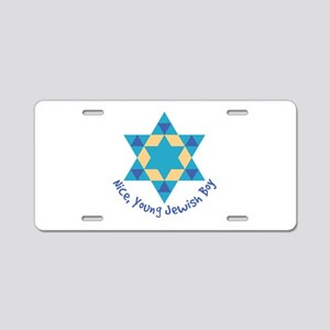 Nice, Young Jewish Boy Aluminum License Plate
