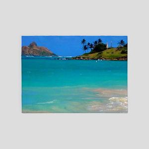 Kailua Beach 5'x7'Area Rug
