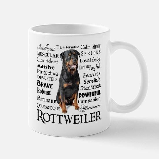 Rottie Traits Mugs