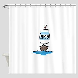 Jibe Shower Curtain