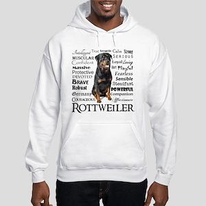 Rottie Traits Hoodie