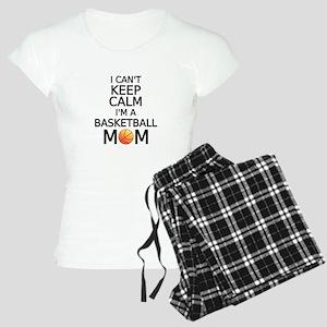 I cant keep calm, I am a basketball mom Pajamas