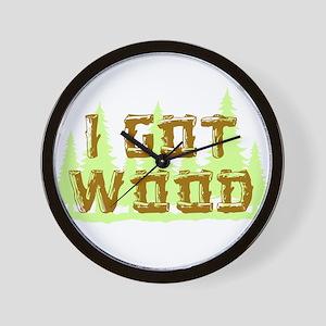 I Got Wood Wall Clock