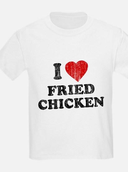 I Love [Heart] Fried Chicken T-Shirt