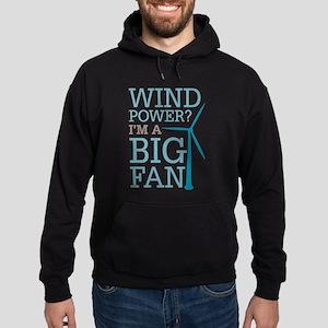 Wind Power Big Fan Hoodie (dark)