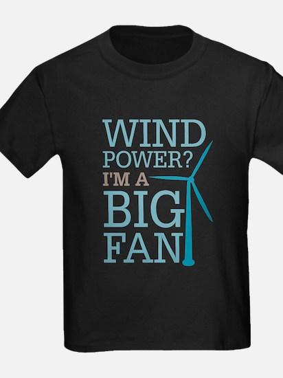 Wind Power Big Fan T