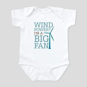 Wind Power Big Fan Infant Bodysuit