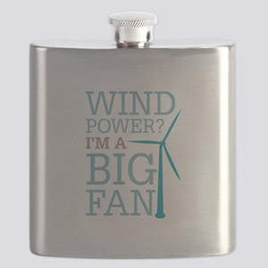 Wind Power Big Fan Flask
