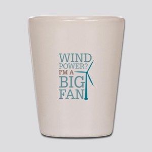 Wind Power Big Fan Shot Glass