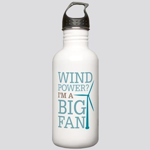Wind Power Big Fan Stainless Water Bottle 1.0L