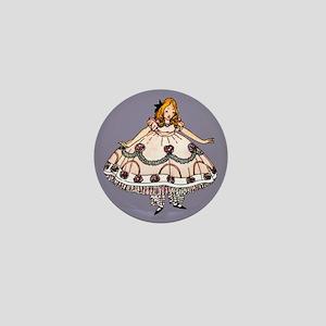 Fancy Alice Graphic Mini Button