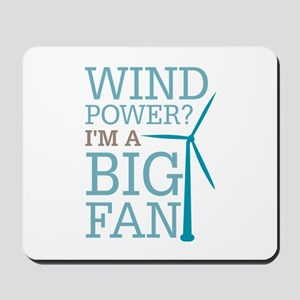 Wind Power Big Fan Mousepad