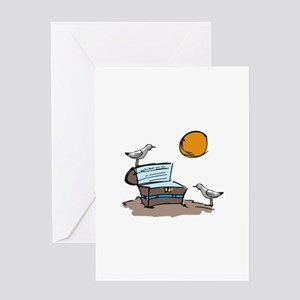 Treasure Chest Greeting Cards
