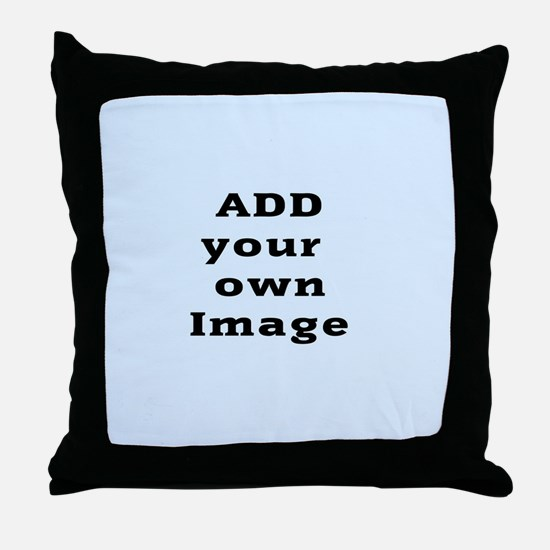 Add Image Throw Pillow