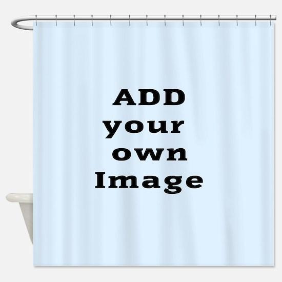 Add Photo Shower Curtain