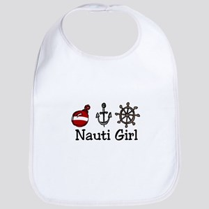 Nauti Girl Bib