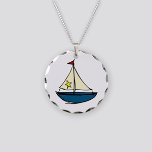 Sail Boat Necklace