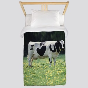 I Love You Cow Twin Duvet