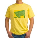 The 413 Cow Yellow T-Shirt