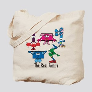 Rest Family Tote Bag