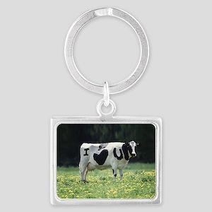 I Love You Cow Keychains