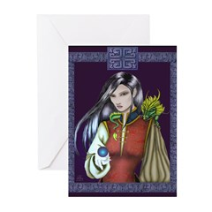 Sorceress Greeting Cards (Pk of 10)