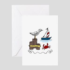 Nautical Scene Greeting Cards