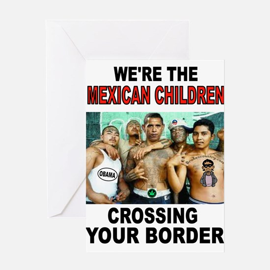 MEXICAN IMMIGRANTS Greeting Cards